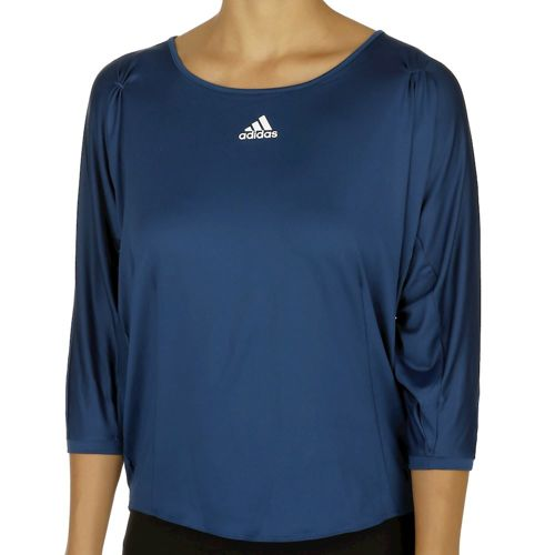 adidas Multifaceted Pro 3/4 Long Sleeve Women - Dark Blue, White