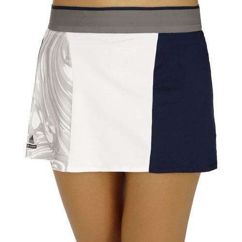 adidas By Stella McCartney Barricade Skirt Women - Dark Blue, Grey