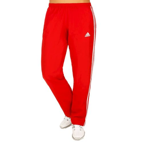 adidas T16 Team Pant Training Pants Women - Neon Red, White