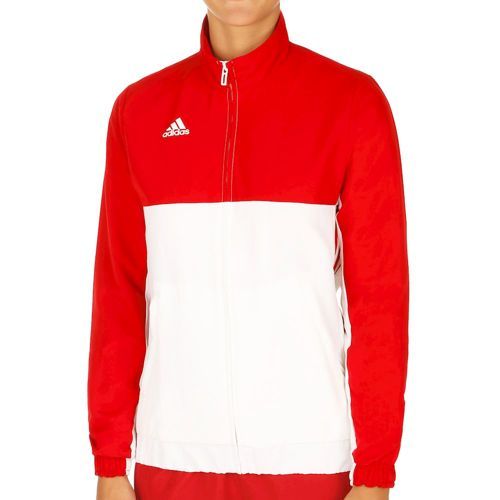 adidas T16 Team Jacket Training Jacket Women - Neon Red, White
