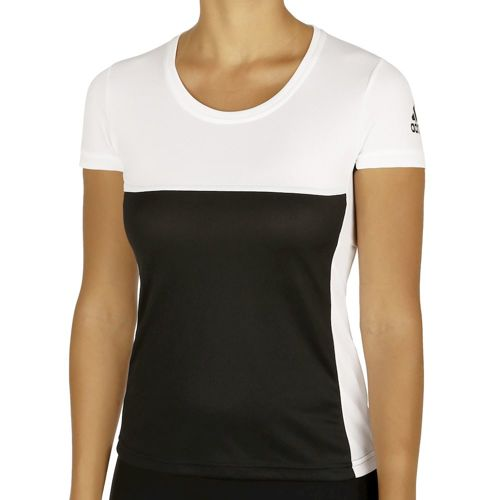 adidas T16 Clima T-Shirt Women - Black, White