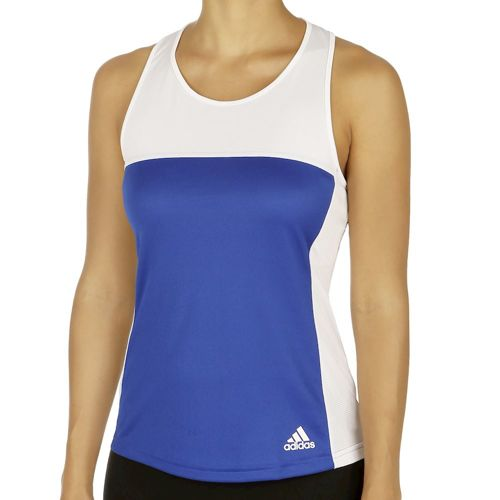 adidas T16 Clima Tank Top Women - Blue, White
