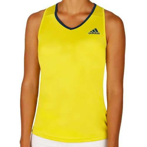 adidas Club Tank Top Women - Light Green, Dark Blue