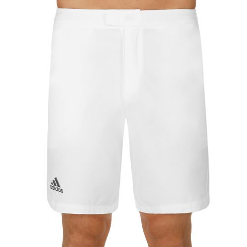 adidas Barricade Bermuda Shorts Men - White, Dark Blue