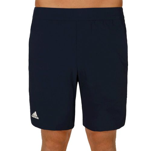adidas Pro Shorts Men - Dark Blue, White