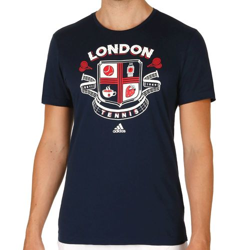 adidas Wimbledon T-Shirt Men - Dark Blue