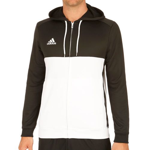adidas T16 Hoody Men - Black, White