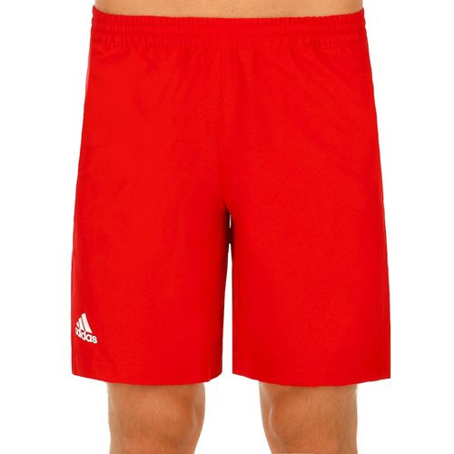 adidas Climachill T16 Shorts Men - Neon Red, White