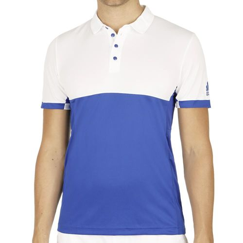 adidas T16 Climachilll Polo Men - Blue, White