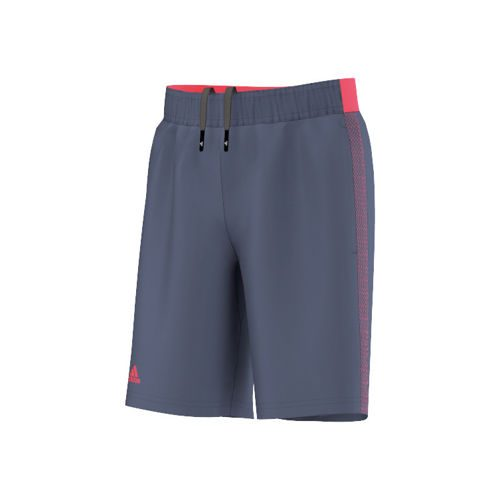 adidas Barricade Shorts Boys - Dark Blue, Neon Red