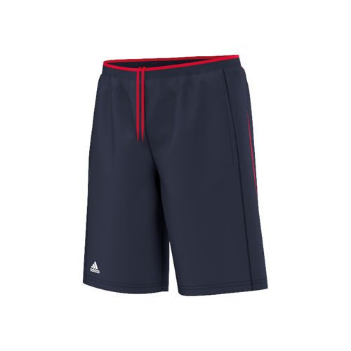 adidas Club Shorts Boys - Dark Blue, Red