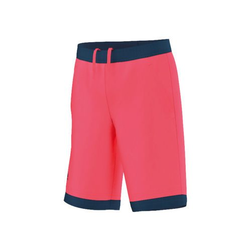 adidas Multifaceted Pro Bermuda Shorts Boys - Neon Red, Dark Blue