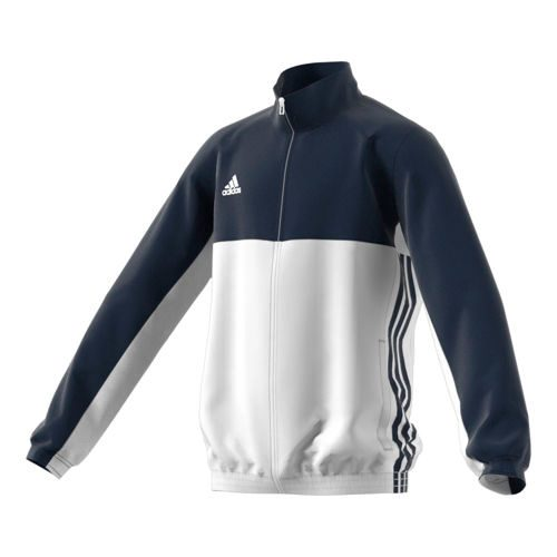 adidas T16 Team Jacket Training Jacket Kids - Dark Blue, White