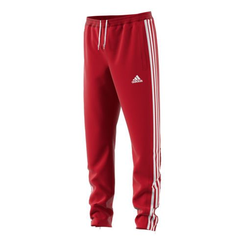 adidas T16 Sweat Pant Training Pants Kids - Neon Red, White