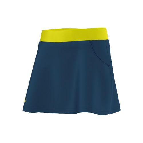 adidas Club Skirt Girls - Dark Blue, Light Green