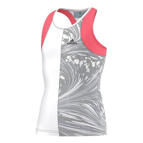 adidas By Stella McCartney Barricade Tank Top Girls - Neon Red, White