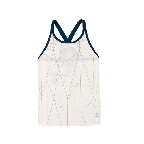 adidas Multifaceted Club Tank Top Girls - White, Dark Blue