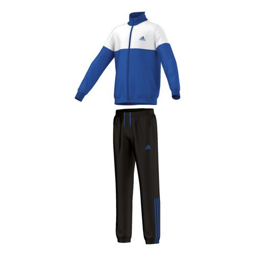 adidas Tibereo Tracksuit Closed Hem Tracksuit Boys - Blue, White