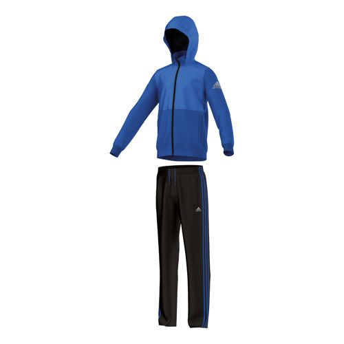 adidas Training Tracksuit Open Hem Tracksuit Boys - Blue, Black