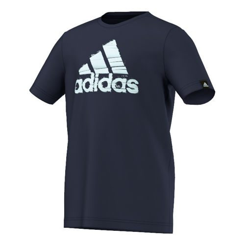 adidas Summer Logo T-Shirt Boys - Dark Blue