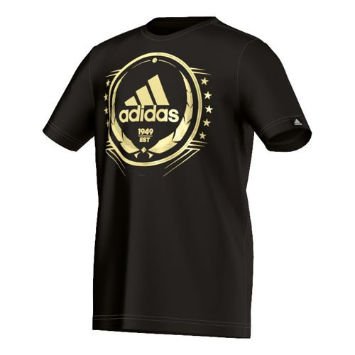 adidas Olympic Loge T-Shirt Boys - Black