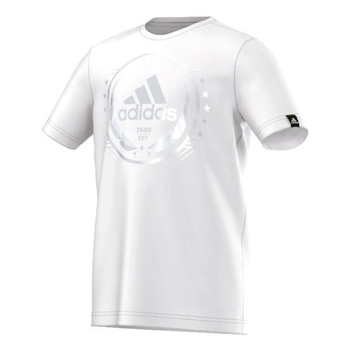 adidas Olympic Loge T-Shirt Boys - White