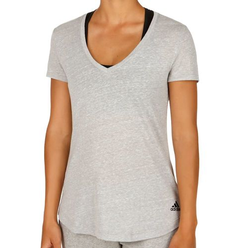 adidas Basics Logo T-Shirt Women - Grey