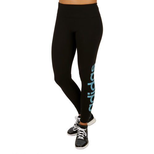 adidas Essentials Linear Tight Training Pants Women - Black, Blue
