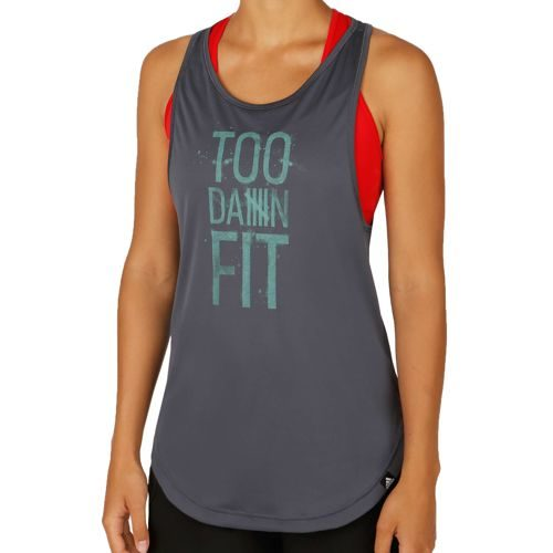 adidas Too Fit Tank Top Women - Dark Grey