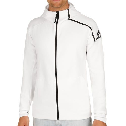 adidas ZNE Full Zip Hoody Training Jacket Men - White