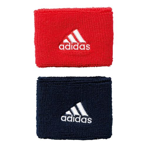 adidas S Wristband - Red, Dark Blue