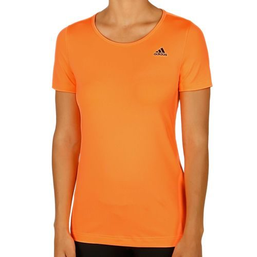 adidas Basics Solid T-Shirt Women - Orange, Black