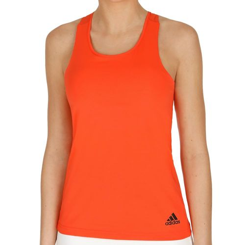 adidas Uncontrol Climachill Tank Top Women - Orange, Black