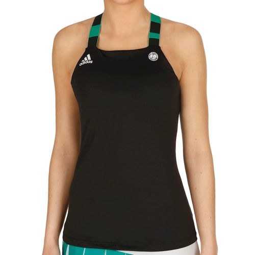 adidas Roland Garros Tank Top Women - Dark Grey, White