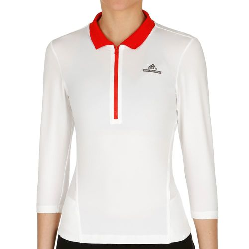 adidas Stella McCartney Barricade Long Sleeve Women - White, Red