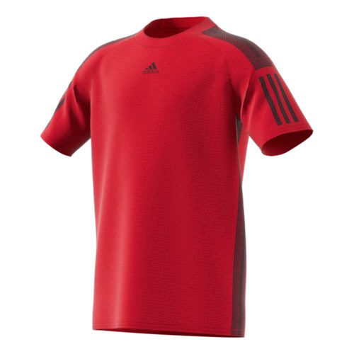 adidas Barricade T-Shirt Boys - Red, Black
