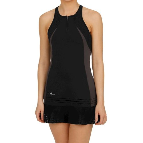 adidas Stella McCartney Barricade Dress Women - Black, Dark Grey