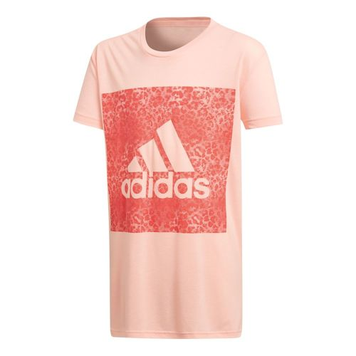 adidas Essentials Logo In The Box T-Shirt Girls - Pink, Coral