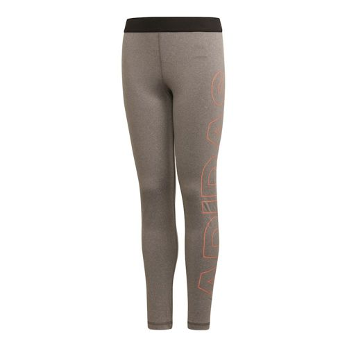 adidas Training Branded Tight Girls - Grey, Coral
