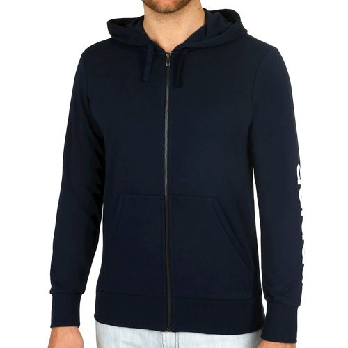 adidas Linear Full-Zip French Terry Training Jacket Men - Dark Blue