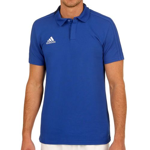 adidas Condivo 18 Cotton Polo Men - Blue, Dark Blue