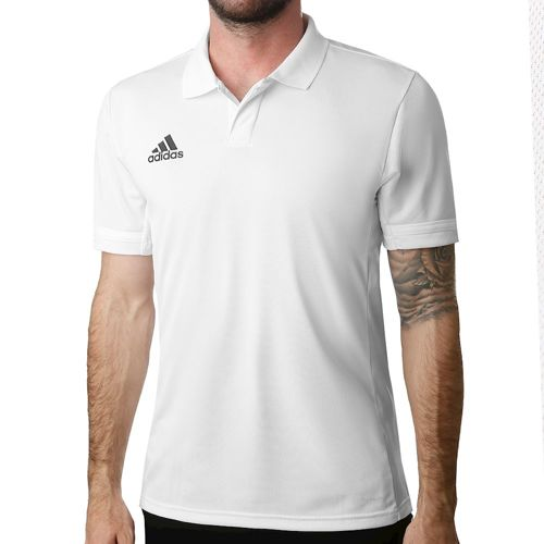 adidas T19 Polo Men - White, Black