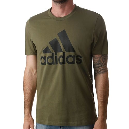 adidas Must Have Badge Of Sport T-Shirt Men - Khaki, Black