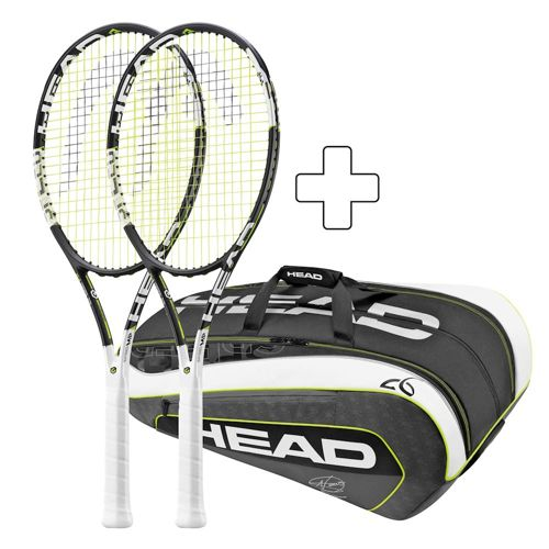 HEAD 2 X Graphene XT Speed MP 16/19 Plus Tennis Bag