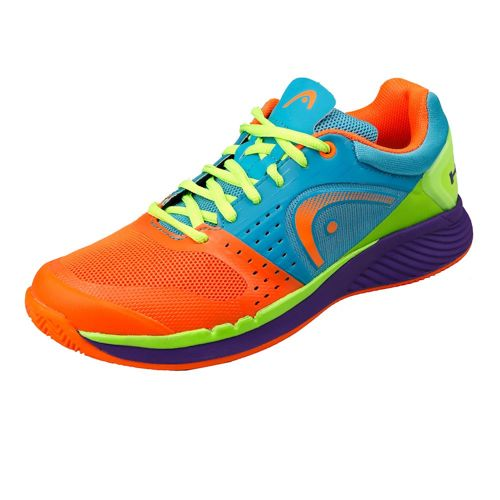 HEAD Sprint Pro Clay Exclusive Clay Court Shoe Limited Edition Men - Blue, Neon Orange