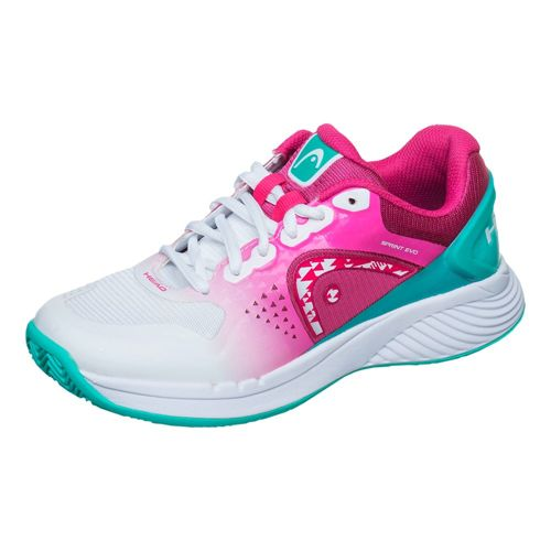 HEAD Sprint Evo Clay Clay Court Shoe Women - White, Pink