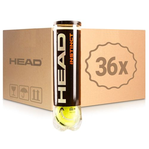 HEAD Instinct 36x 4 Ball Tube In A Box