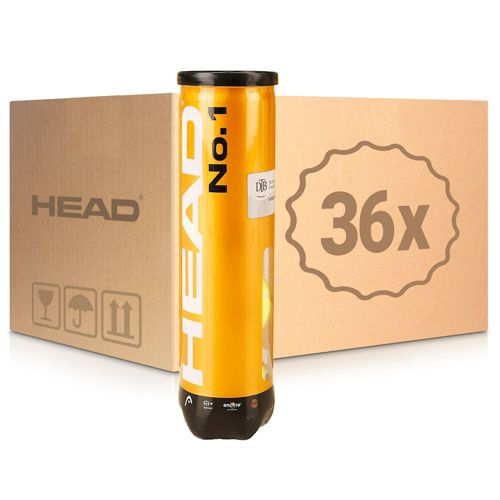 HEAD No.1 36x 4 Ball Tube In A Carton