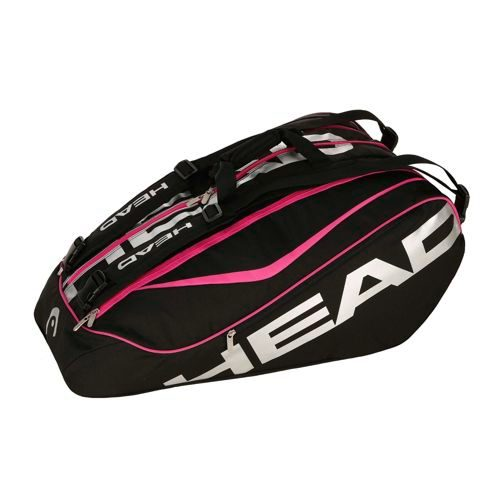 HEAD Tour 12R Limited Monstercombi Racket Bag - Black, Pink