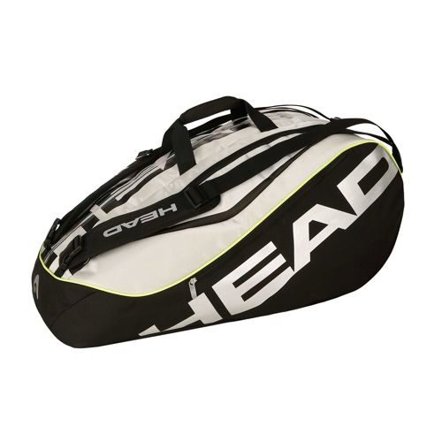 HEAD Tour 12R Limited Monstercombi Racket Bag - Black, Silver